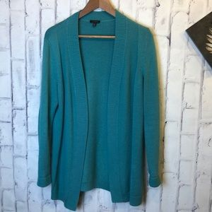Talbots green open knit cardigan. Size medium